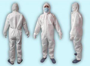 ชุด PPE ป้องกันเชื้อโรค